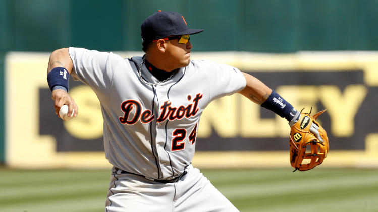 MLB: Detroit Tigers at Oakland Athletics