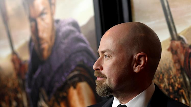 "Steven S. DeKnight arrives at the premiere of ""Spartacus: War of the Damned"" on Tuesday, Jan. 22, 2013 in Los Angeles. ""Spartacus: War of the Damned"" premieres Friday, Jan. 25 at 9PM on STARZ. (Photo by Matt Sayles/Invision for STARZ/AP Images)"