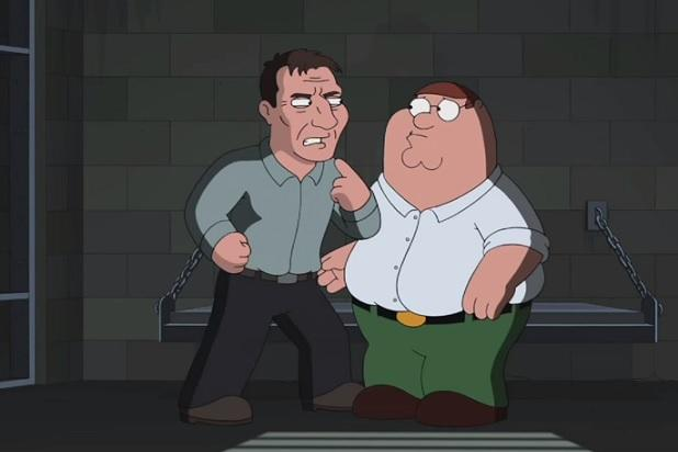 Liam Neeson Is Ready to Pound Peter Griffin in 'Family Guy' 250th Episode (Exclusive Video)