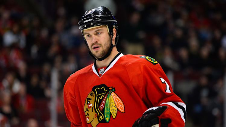 Brent Seabrook ejected after hit to head of David Backes (Video…