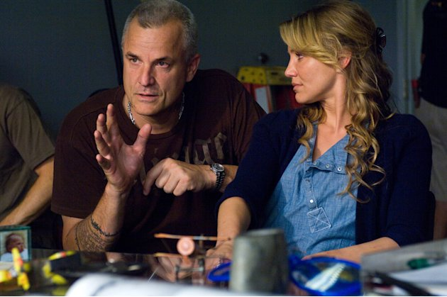 Director Nick Cassavates Cameron Diaz My Sister's Keeper Production Stills New Line 2009