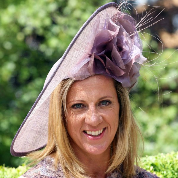 Sally Gunnell at Royal Ascot Ladies Day