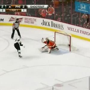 Steve Mason Save on Logan Couture (00:00/SO)