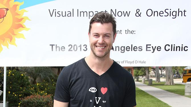"""Cast Of Starz """"Spartacus: War Of The Damned"""" Lend Support At The 2013 Visual Impact Now Annual Eye Clinic Event"""