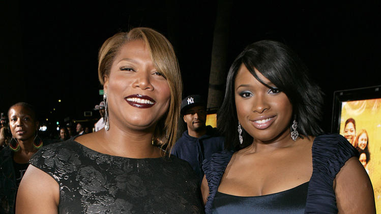 The Secret Life of Bees LA Premiere 2008 Queen Latifah Jennifer Hudson