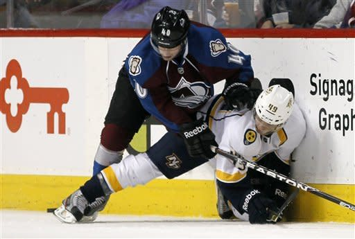 Predators beat Avs 6-1 in regular-season finale