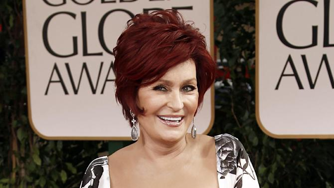 "FILE - This Jan. 15, 2012 file photo shows Sharon Osbourne at the 69th Annual Golden Globe Awards in Los Angeles. Sharon Osbourne says she had a double mastectomy after learning she carries a gene that increases the risk of developing breast cancer. Osbourne told Hello! magazine that ""I didn't want to live the rest of my life with that shadow hanging over me."" The 60-year-old ""America's Got Talent"" judge, who had colon cancer a decade ago, said that without the surgery, ""the odds are not in my favor."" (AP Photo/Matt Sayles, file)"