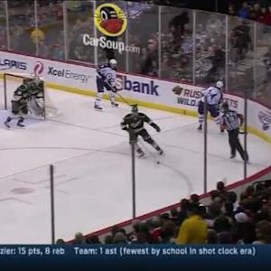 John Curry Save on Anthony Peluso (04:07/3rd)
