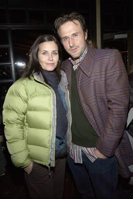 Courteney Cox and David Arquette 1/18/2004 Sundance Film Festival