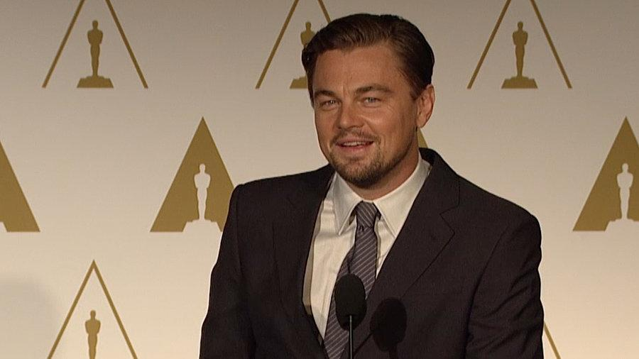 "Leo DiCaprio: The Wolf of Wall Street Is a ""Cautionary Tale"""