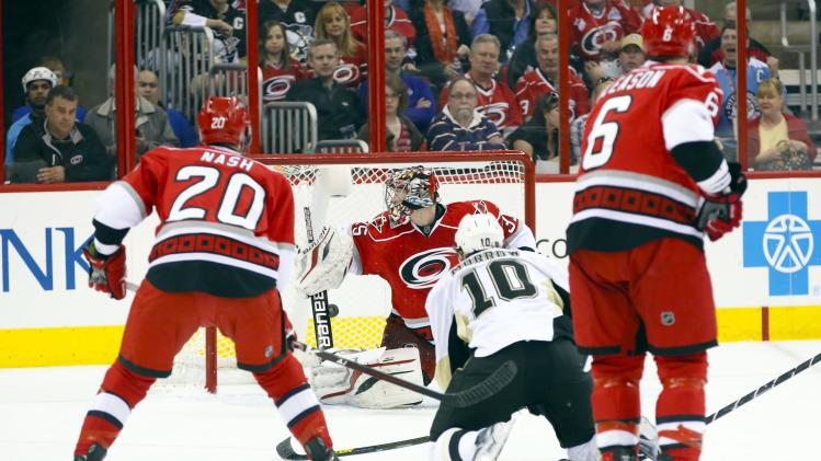 NHL: Pittsburgh Penguins at Carolina Hurricanes