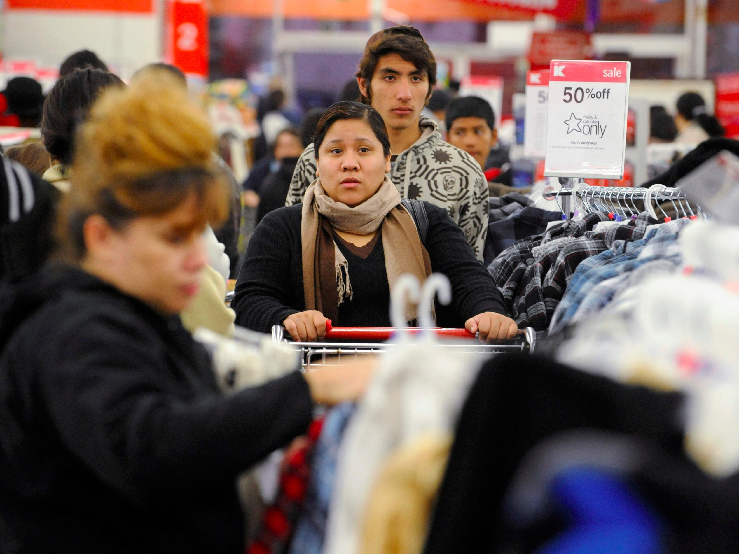 Kmart president says his workers looked forward to a 6 a.m. shift on Thanksgiving