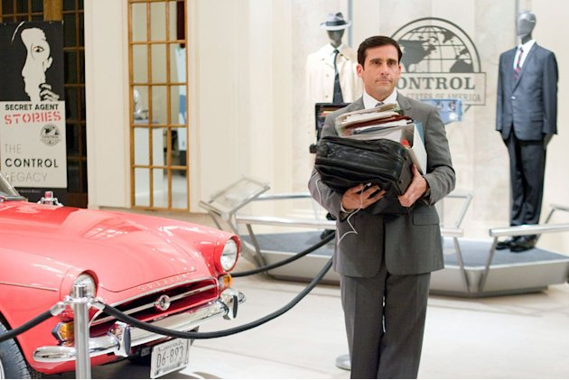 Warner Brothers Get Smart 2008 Steve Carell