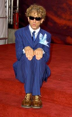 Andy Dick looks vaguely like he might belong in some music video from the 80s.  Maybe Devo or something. MTV Movie Awards - 6/5/2004