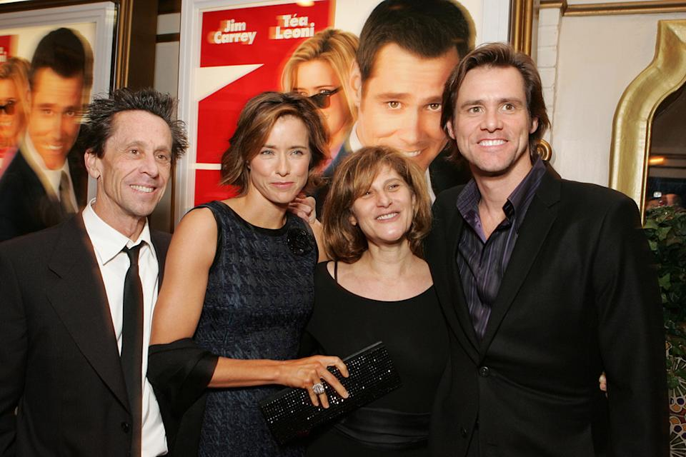 Jim Carrey 2005 Brian Grazer Tea Leoni Amy Pascal