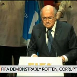 Won't See Clean Up of FIFA Until Blatter Goes: Hill