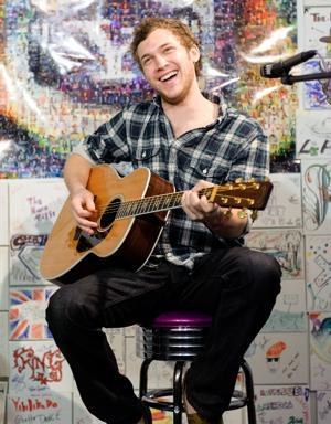 Phillip Phillips Comes Out of Hiding, Rocks Out For Yahoo! Music
