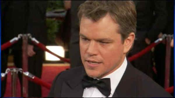 Matt Damon and The Promised Land