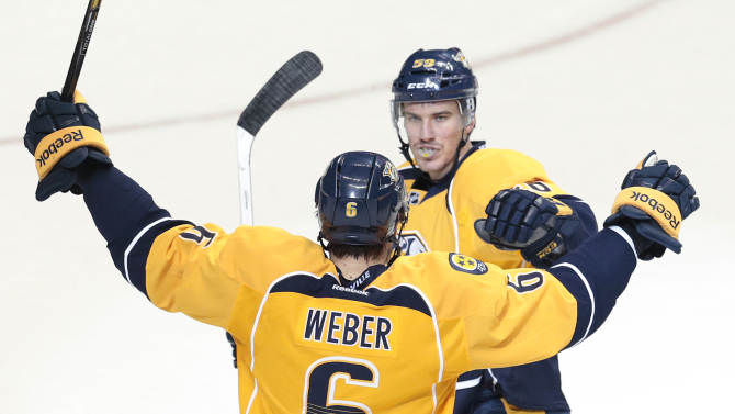 Predators edge Sharks 3-2