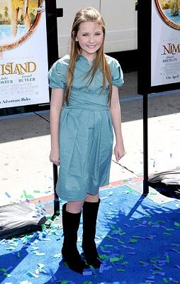 Abigail Breslin at the Hollywood premiere of Fox Walden's Nim's Island – 03/30/2008 Photo: Gregg DeGuire, WireImage.com