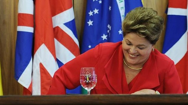 Dilma Rousseff expects Brazil to host a 'great' World Cup in 2014