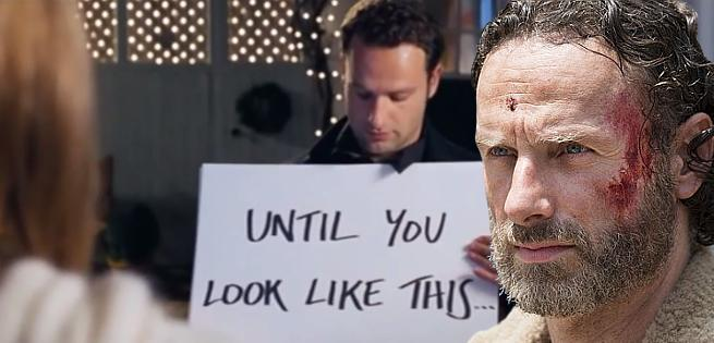 The Walking Dead's Andrew Lincoln Confirms His Love Actually Character Was A Stalker