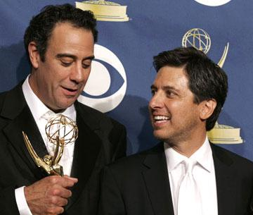 Winners Brad Garrett and Ray Romano 57th Annual Emmy Awards Press Room - 9/18/2005