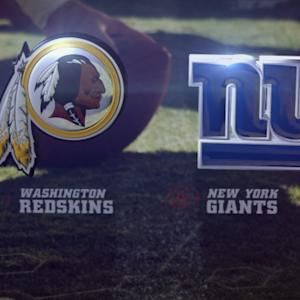 Week 15: Washington Redskins vs. New York Giants highlights