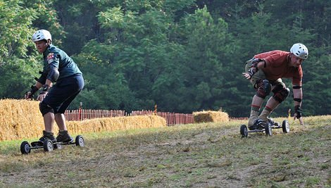 2012 World Alternative Games Ready for Mountainboarding Down 'Dave'