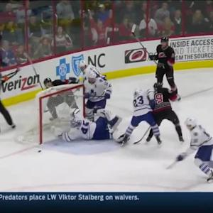 Toronto Maple Leafs at Carolina Hurricanes - 12/18/2014