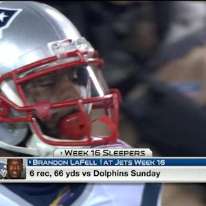 'NFL Fantasy Live': Rank's 11 Sleepers for Week 16