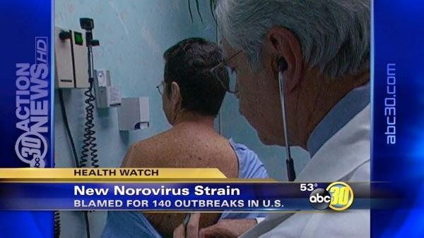 New strain of Norovirus sweeping the US