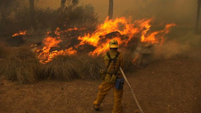 More than 3,000 firefighters battling Calif. wildfires