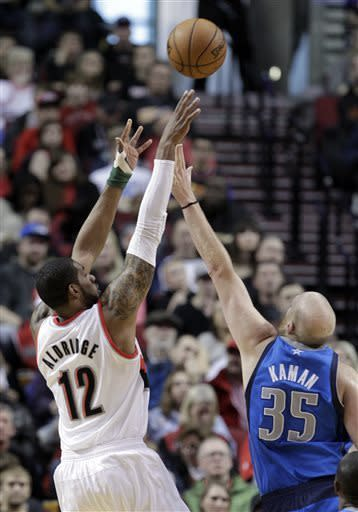 Mavericks hold on for 96-91 win over Portland