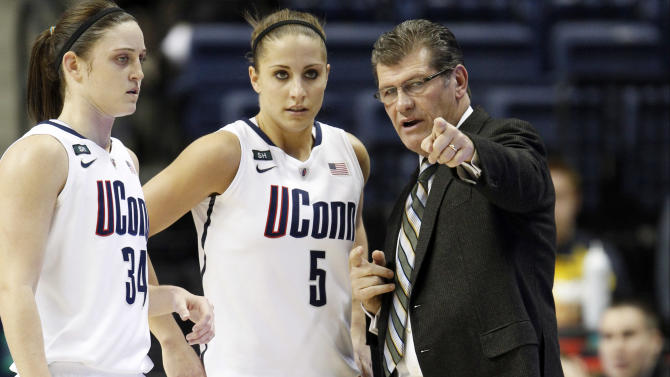 NCAA Womens Basketball: DePaul at Connecticut