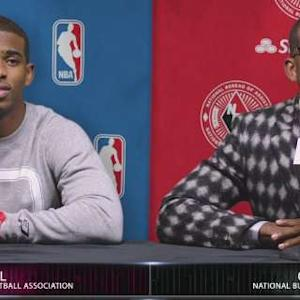 Chris and Cliff Paul's News Conference