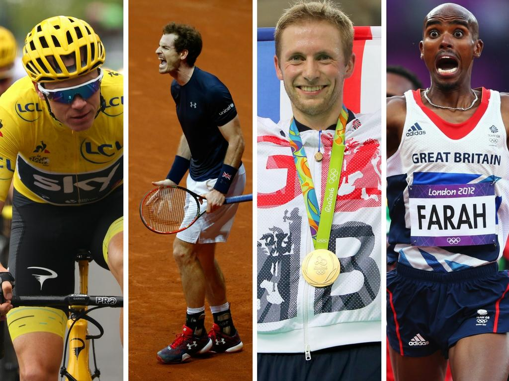 <p>Froome, Murray, Kenny and Farah – where do they stand in the all-time record?</p>