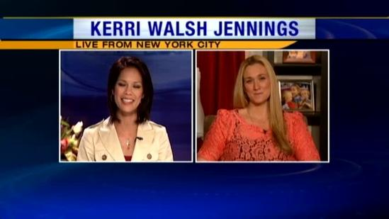 Kerri Walsh Jennings on losing baby weight the healthy way