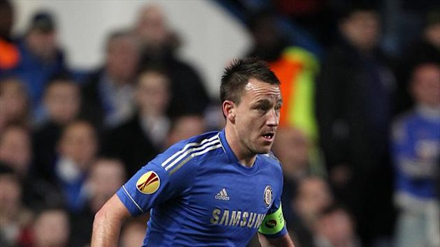 John Terry insists Champions League qualification is Chelsea's main aim