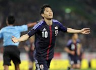 Japanese international Shinji Kagawa (pictured in May) was due to undergo a medical on Friday as he looks to seal his transfer to Premier League giants Manchester United, according to reports