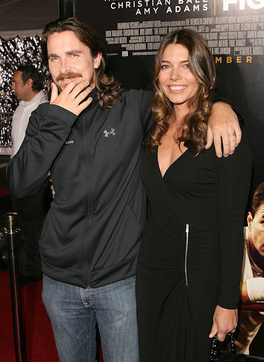 The Fighter LA Premiere 2010 Christian Bale Sibi Blazic