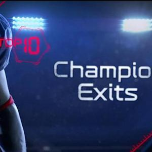 Top 10 NFL champion exits
