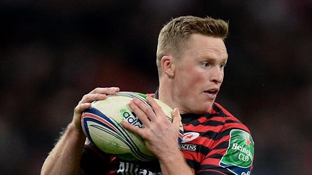 Chris Ashton was on fine form upon his return the Saracens duty