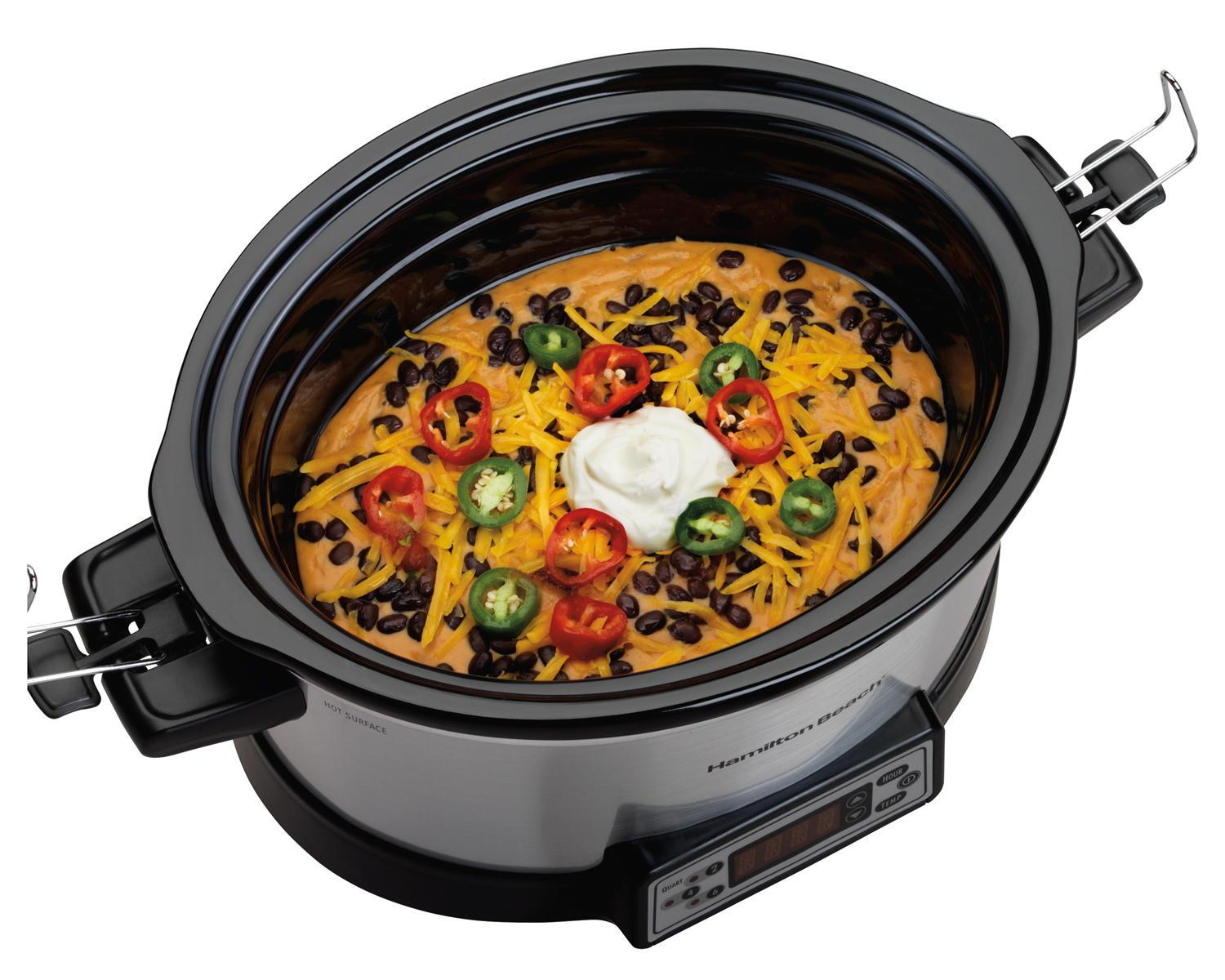 Big party or small, root for this Hamilton Beach slow cooker
