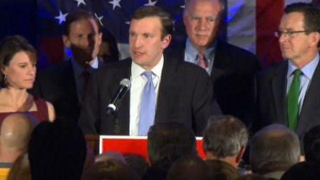 Democrat Chris Murphy wins Connecticut Senate race