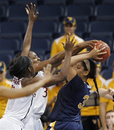 Orrange leads Stanford women past West Virginia