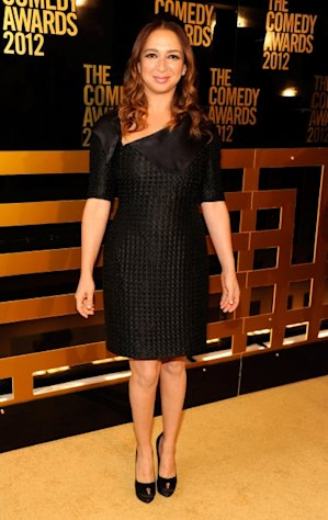 &#39;Up All Night&#39; star Maya Rudolph attends The Comedy Awards 2012 at Hammerstein Ballroom in New York City on April 28, 2012  -- WireImage
