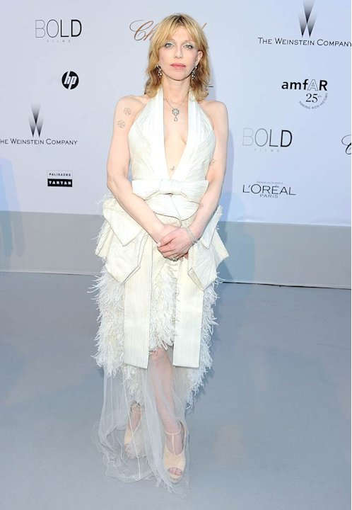 Courtney Love amfAR Cannes Evnt