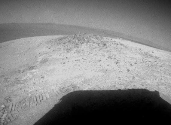 Mars Rover Opportunity Survives Harsh Martian Winter to Rove Again