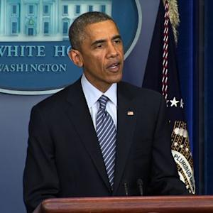 Obama urges protesters to respond peacefully to Ferguson grand jury decision